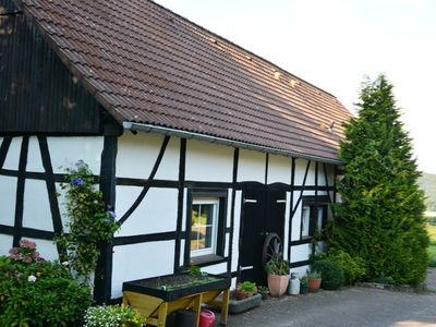 Photo for Half-timbered house on an old farm, above the Baldeneysees, in nature