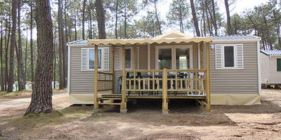 Photo for Camping Le Pipiou **** - Mobile home 4 rooms for 6 people
