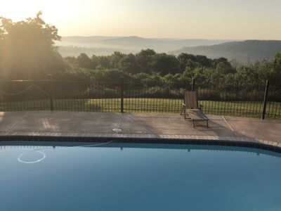 Photo for Secluded Mountaintop Get-Away with Panoramic View, and In-ground Pool