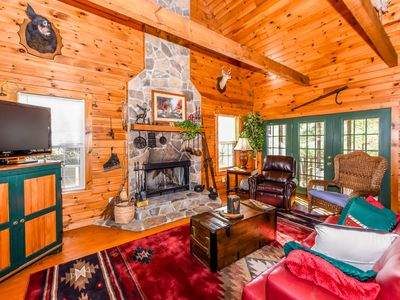 Photo for Cozy Mountain Retreat in gated community with FREE POOL, WiFi, & Fitness Center