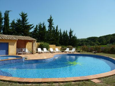 Photo for Gite for 6 people in Provencal farmhouse with swimming pool