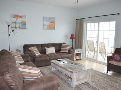 Photo for 6BR/5BA LUXURY OCEANFRONT CONDO *Renovated 2019!POOL  2 story, sleeps 16