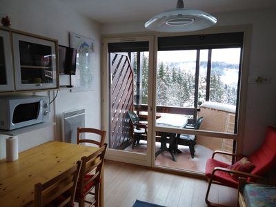 Photo for Studio in the mountains at the foot of the ski slopes