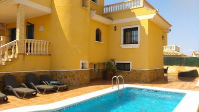 Photo for Beautiful 6 Bed Villa with Private Pool, on The Costa Blanca.