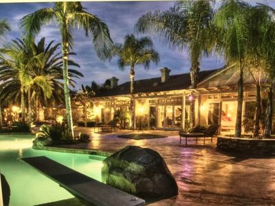 Photo for Beautiful Resort-Like Vacation Retreat close to all San Diego Attractions
