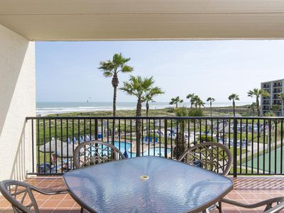 Photo for Saida I 301 - Charming Beachfront Condo, Ocean Views from Private Balcony, Luxurious Grounds