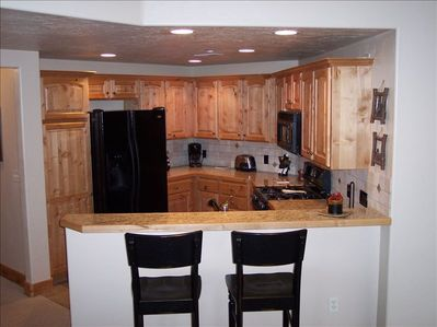 Full Kitchen with gas stove for Your Enjoyment