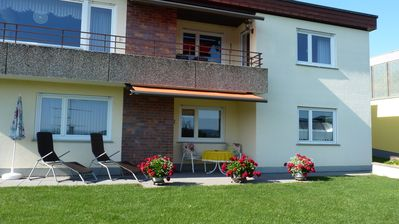 Photo for Comfortable *** apartment, quiet south-facing slope, Swiss border
