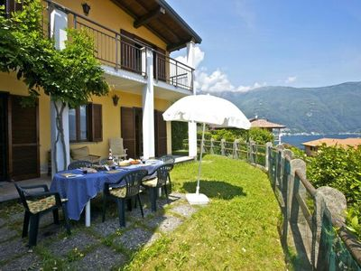 Photo for Well maintained 3½-room house with large garden and beautiful lake view