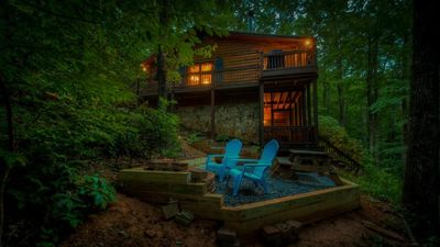 Photo for Cherokee Creek- Pet Friendly | Screened Porch | Cherry Log | Fire Pit