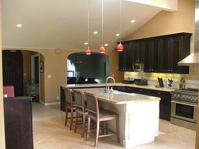 Photo for 4 Bedroom 4 Bath Luxury Home with Pool, Spa.
