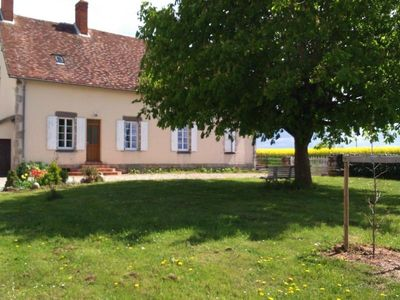 Photo for Gite Saint-Loup (Allier), 4 bedrooms, 8 persons