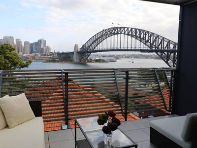 Photo for Breathtaking Top Floor 2 bedroom Apartment with $M Sydney Harbour Views
