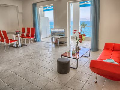 Photo for Two Bedrooms Two Bathrooms Apartment Stanning Sea View Fully Equipped