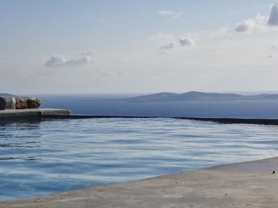 Photo for Ficus Villa Mykonos is a nice 5 bedroom villa with heated pool