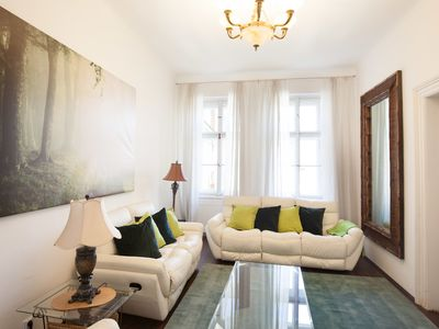 Photo for Three bedroom apartment for 10 people next to Wenceslas square by easyBNB