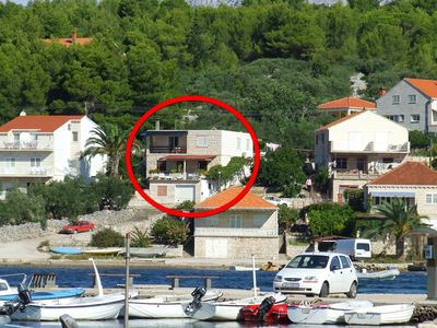 Photo for 2BR Apartment Vacation Rental in Lumbarda, island of Korcula