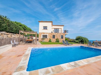 Photo for Club Villamar - Spectacular villa with nice private swimming pool and large seating area and fant...
