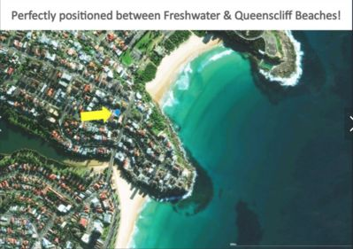 Fabulous location - 3 mins to Manly/Q'Cliff beach and 10 min walk to Freshwater!