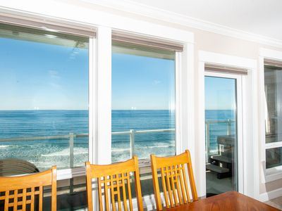 Photo for *Promo!* Top Floor Oceanfront Luxury Condo, Private Hot Tub, Indoor Pool & WiFi!