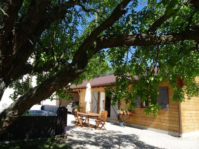 Photo for Gîte any comfort independent in property, swimming pool, outside SPA air conditioning wifi