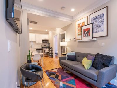 Photo for Designer 3 Bedroom North End Apt by Domio