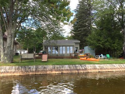 Photo for Upscale lakeside cottage on the beautiful Lake Mitchell