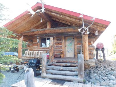 Photo for Alaskan Wooden Bear Cabins - Miners Cabin