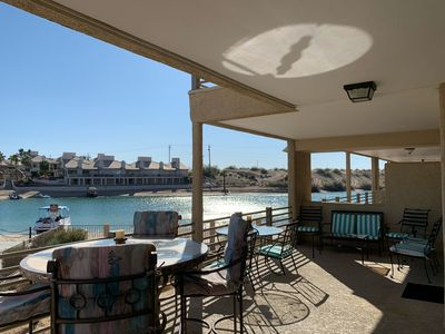Photo for Amazing end unit 2 bdrm condo w/direct waterfront view in the coveted Kingsview!