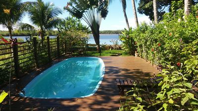 Photo for House 4 Coconut trees with pool in Itacaré on the Beira River