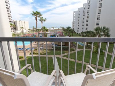 Photo for Saida III 302 - Beachfront Condo with the Gulf of Mexico and Sandy Beaches Out Your Back Door
