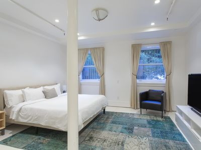 Photo for Archbishop's Mansion | Basement Guest Room | 1 Bed