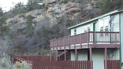 Photo for 3 Bed 2 Bath Sleeps 8 Next To Rifle Falls State Park & Rifle Mountain Park