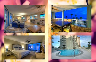 Photo for Spectacular 3 BD  Ocean Front Condo On The Second Floor. Long Beach Tower 1-106 By ZIA!