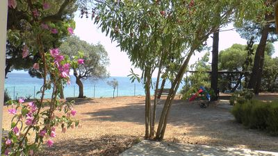Photo for Private villa on the beach in Halkidiki, Greece