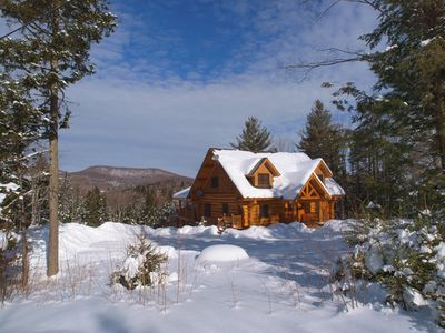 Photo for Stowe's Most Requested Log Home