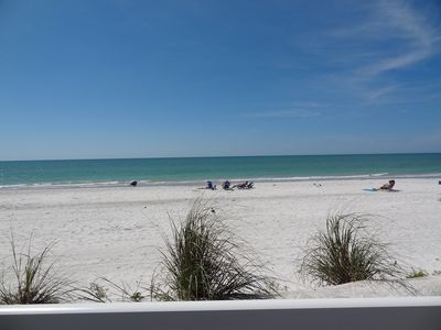 Photo for Updated condo right on the beach @ Indian Rocks Beach on the Gulf of Mexico