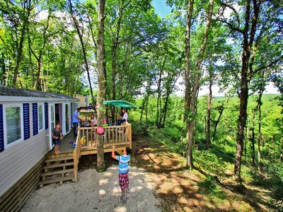 Photo for Camping La Paille Basse ***** - Mobil Home Premium 4 Rooms 7/8 People