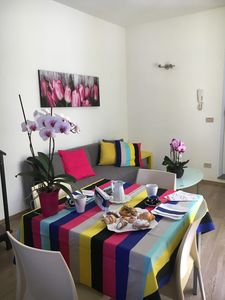 Photo for Delightful and bright two-room apartment in the historic center of Palermo