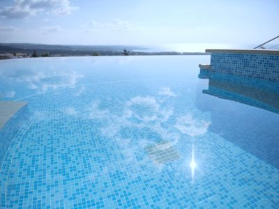 Photo for THE MEDITERRANEAN SUITE! FAB INFINITY SWIMMING POOL/JACUZZI/SPA. 'SPECTACULAR!'