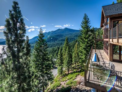 Photo for Fall Savings! Unforgettable Lake Tahoe Cabin with Sweeping Bay Views