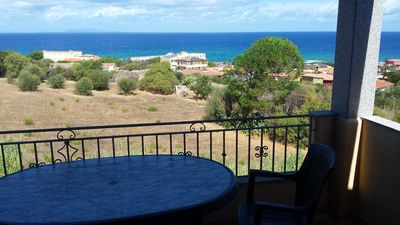 Photo for Attic Castelsardo, your terrace overlooking the sea