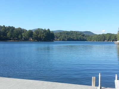 Photo for Private Lake Front Home on Lake Toxaway in Western North Carolina!