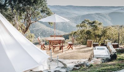 Photo for Mabi - Glamping overlooking the Great Dividing Range
