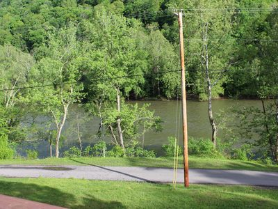 Photo for Private Riverfront Cabin Within the New River Gorge National Park