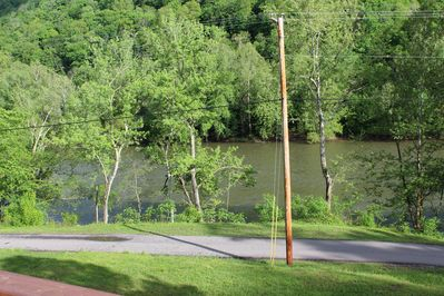 View of the river fron the front porch