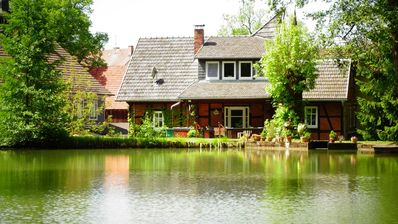 "Photo for Apartment ""Alte Mühle"" at Fischer's pond - Pure nature on over 5. 000sqm"