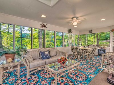 Photo for NEW! The Crystal House w/Sunroom, Golf Green Views