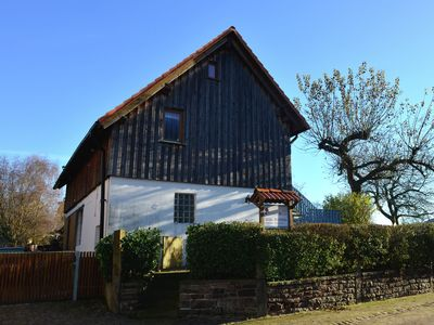 Photo for Exceptionally bright holiday home surrounded by the beautiful nature of the Weserbergland
