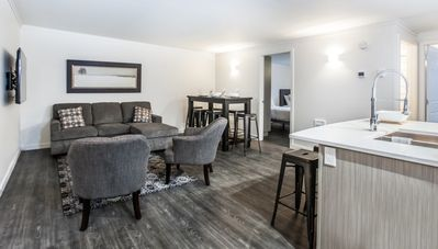 Photo for Novlan Suite: Upscale & Cozy, Newly Outfitted Condo